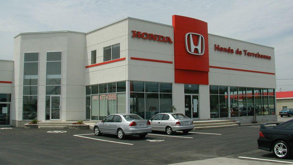 Commercial projects - Terrebonne's Honda