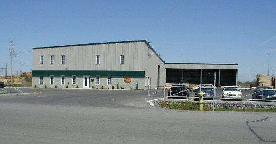 Projet industriel - Bois Maron Ltée.