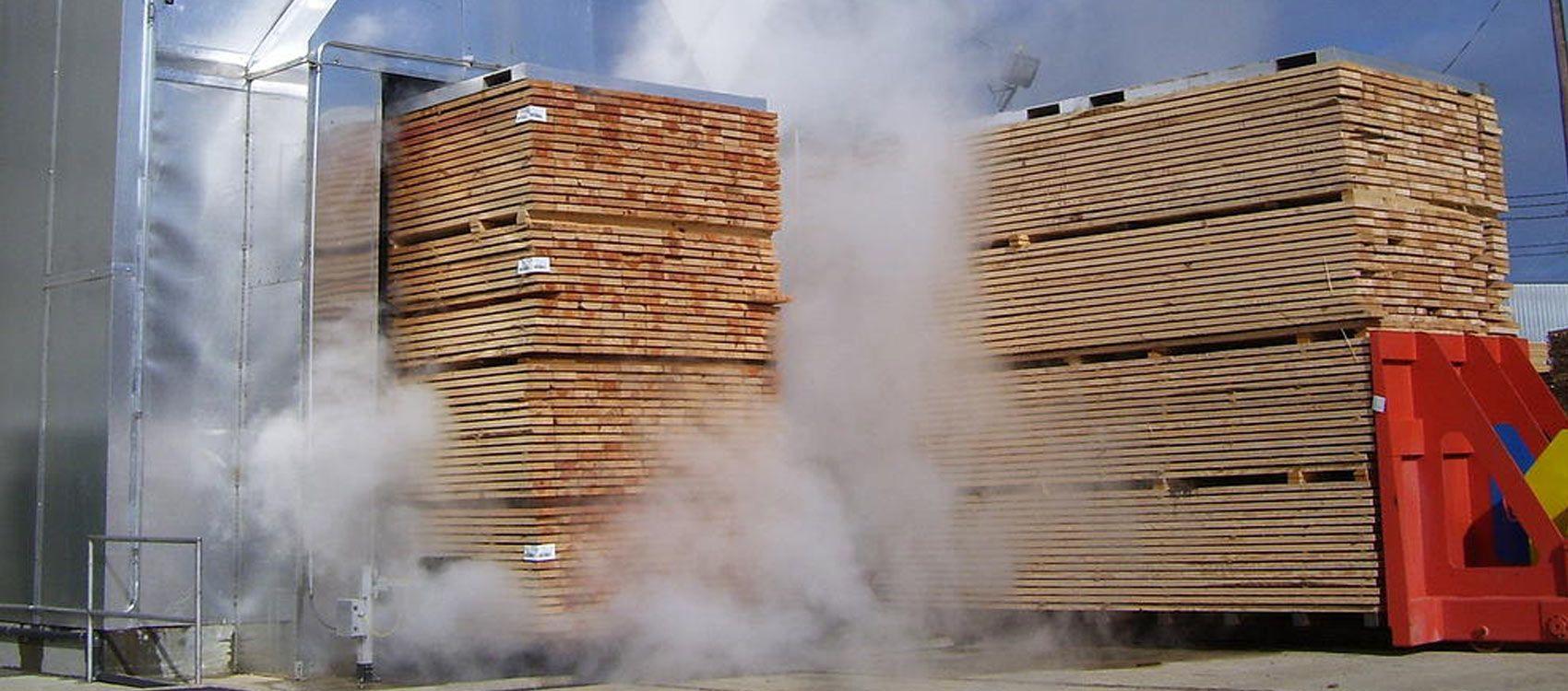 Séchoirs à bois