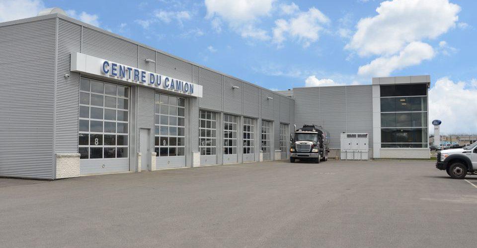 projet commercial centre du camion