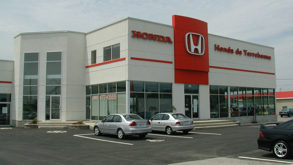 Commercial projects - Terrebonne's Honda