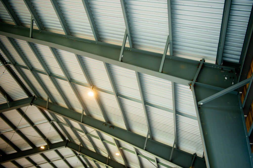 Patinoire extérieure sur le toit